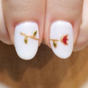 お花ネイル