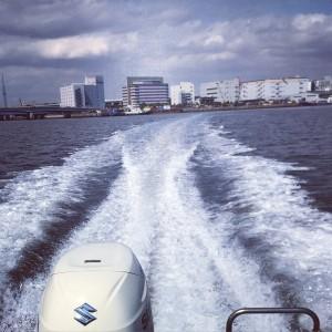 水上ドライブ